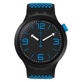 Swatch SO27B101 Big Bold Armbanduhr BBBlue