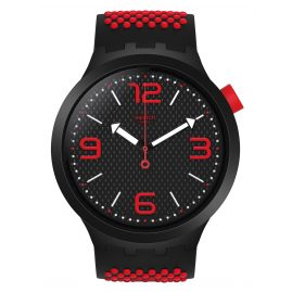 Swatch SO27B102 Big Bold Watch BBBlood