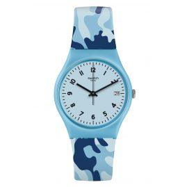 Swatch GS402 Armbanduhr Camoublue