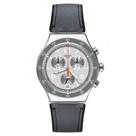 Swatch YVS446 Irony Chrono Herrenuhr Last Round
