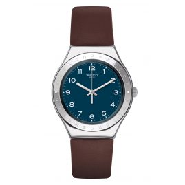 Swatch YGS139 Irony Herren-Armbanduhr Tannage