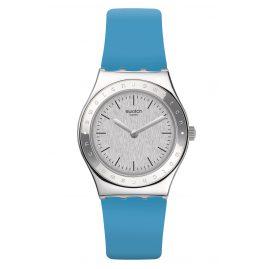 Swatch YLS203 Damen-Armbanduhr Brisebleue