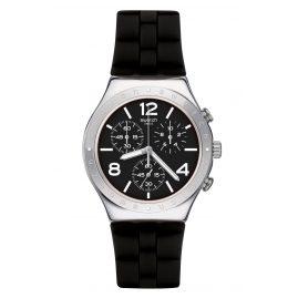 Swatch YCS116 Irony Chrono Herrenuhr Noir De Bienne