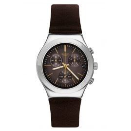 Swatch YCS600 Herrenuhr Brownflect