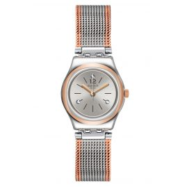 Swatch YSS327M Damenarmbanduhr Full Silver Jacket