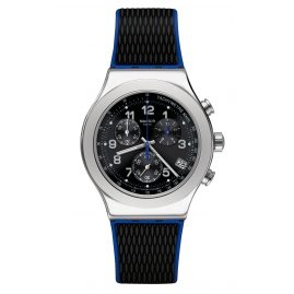 Swatch YVS451 Herrenuhr Chronograph Secret Mission