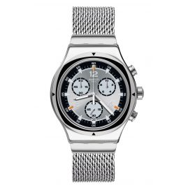 Swatch YVS453MB Herrenuhr Chronograph TV Time 20,5 cm