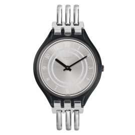 Swatch SVOM105B Skin Damen-Armbanduhr Skinbar S