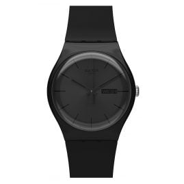 Swatch SUOB702 Black Rebel Herrenuhr