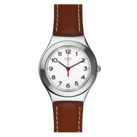 Swatch YGS131 Strictly Silver Armbanduhr