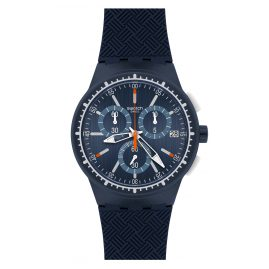 Swatch SUSN410 Gara in Blue Herren-Chronograph