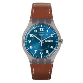 Swatch SUOK709 Mens Watch Vent Brulant