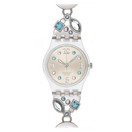 Swatch LK292G Menthol Tone Ladies Watch