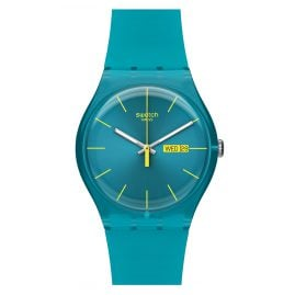 Swatch SUOL700 Turquoise Rebel Damenuhr