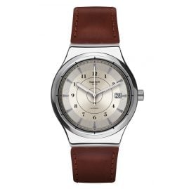 Swatch YIS400 Sistem51 Irony Automatic Watch Sistem Earth