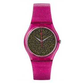 Swatch GP149 Nuit Rose Damenarmbanduhr
