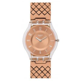 Swatch SFE110GA Pink Cushion L Damenarmbanduhr