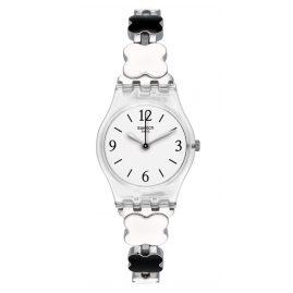 Swatch LK367G Damenarmbanduhr Clovercheck