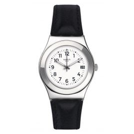 Swatch YLS453 Licorice Damen-Armbanduhr