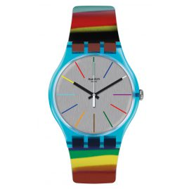 Swatch SUOS106 Colorbrush Damen-Armbanduhr