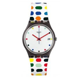 Swatch GM417 Milkolor Ladies Wrist Watch