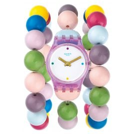 Swatch LP148B Damenuhr Party Beads S