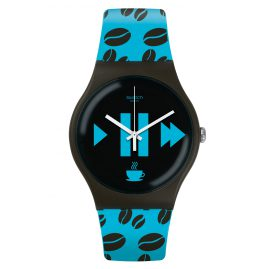 Swatch SUOC106 Armbanduhr Coffee Blue-S