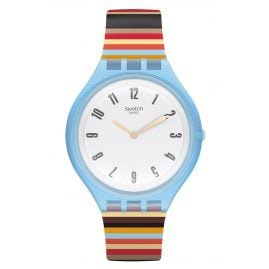Swatch SVUL100 Skin Big Damenuhr Skinstripes