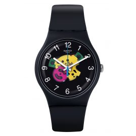 Swatch SUOB140 Wrist Watch Patchwork