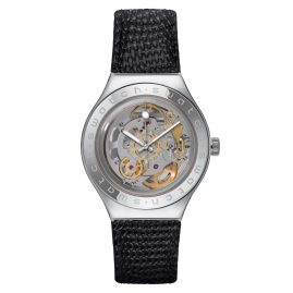 Swatch YAS100D Irony Automatic Watch Body & Soul Leather