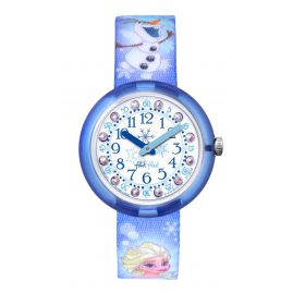 Flik Flak FLNP023 Disney Frozen Elsa & Olaf Kinderuhr