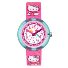 Flik Flak FLNP025 Hello Kitty Gym Kinderuhr-Set