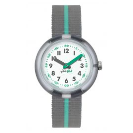 Flik Flak FPNP022 Green Band Kids Watch