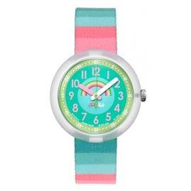 Flik Flak FPNP014 Stripy Streams Armbanduhr für Mädchen