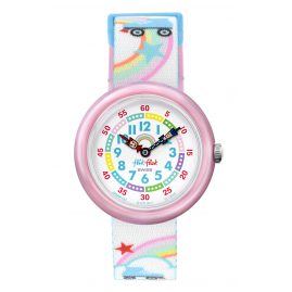 Flik Flak FBNP102 Mädchen-Armbanduhr Roller Disco