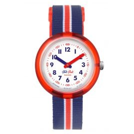 Flik Flak FPNP026 Kinder-Armbanduhr Red Band