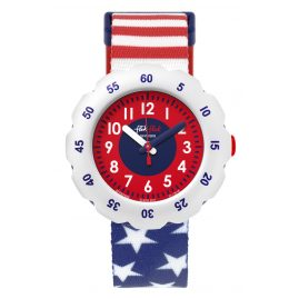 Flik Flak FPSP028 Kids Watch Stars And Stripes