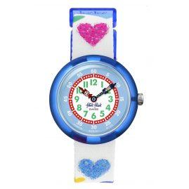 Flik Flak FBNP116 Kinderarmbanduhr für Mädchen Love My Heart