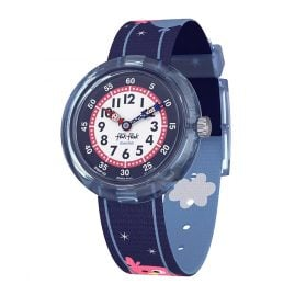 Flik Flak FBNP123 Kinder-Armbanduhr Owly Sky
