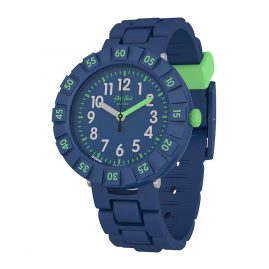 Flik Flak FCSP086 Kinder-Armbanduhr Solo Dark Blue
