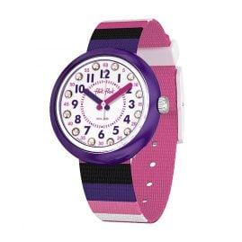 Flik Flak FPNP042 Girls' Wristwatch Stripe Up Your Life