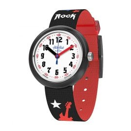 Flik Flak FPNP051 Kinderuhr Let's Rock