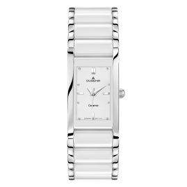 Dugena 4460506 Quadra Ceramica Ladies Watch