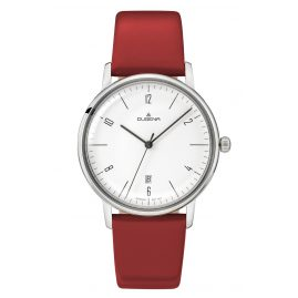 Dugena 4460784 Ladies Watch Dessau Color Red