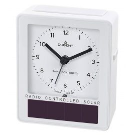 Dugena 4460793 Radio-Controlled Solar Alarm Clock