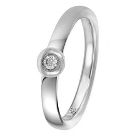 trendor 88315 Silber Brillant-Ring
