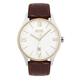 Boss 1513486 Bicolor Herrenuhr Governor