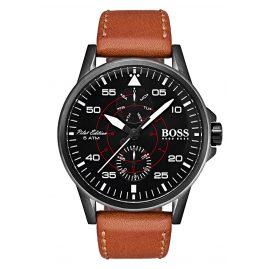 Boss 1513517 Herren-Pilotenuhr Multifunktion Aviator