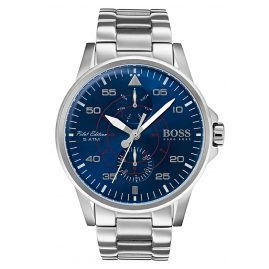 Boss 1513519 Multifunktion Herrenuhr Aviator
