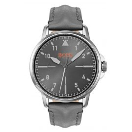 Boss 1550061 Herrenuhr Chicago Grau